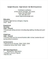 Sample High School Teacher Resume Sample High School Student Resume ...