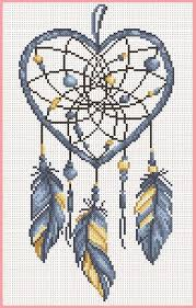 Cross Stitching Patterns Enchanting Dreamcatcher DMC Philippines