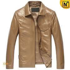tan leather jackets mens cw850118 jackets cwmalls com