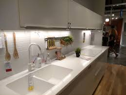 Ikeas White Personlig Acrylic Kitchen Countertop Integrated Sink