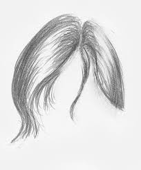 straight hair demo step 2 lee hammond drawing hair for beginners in graphite