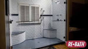 rebath of houston reviews. this is a his and her walk-in shower design. rebath of houston reviews l