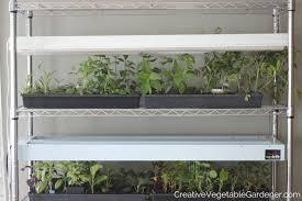 example of a diy grow light stand