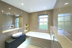 recessed bathroom lighting. Recessed Bathroom Light Lighting Awesome Led Fascinating Size Fixtures Zone 1