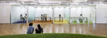 green office. Park-like Green Office Simulates Recreational Ground To Promote Productivity