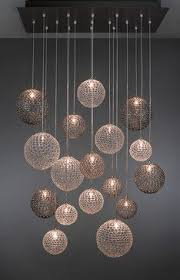 pendant lighting contemporary. Mod Chandelier - Blown Glass Pendant Lighting Contemporary M