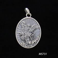 sterling silver archangel michael pendant whole jewelry by zeppo merchandisers inc