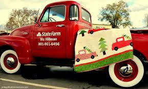 Vintage Christmas Quilt - Pink Polka Dot Creations & ... vintage Christmas quilt Adamdwight.com