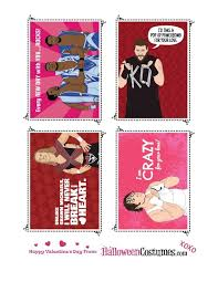 Small Picture Wrestling for your Heart 15 Printable WWE Valentines Day Cards