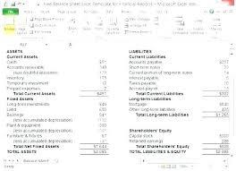 Simple P L Excel Template Profit Sheet Template