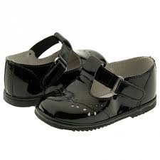 baby toddler girls black patent eyelet design mary jane shoes size 1 7 sophia s style