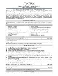 Budget Specialist Sample Resume Bunch Ideas Of Accountsable Resume Also Account Clerk Budget 7
