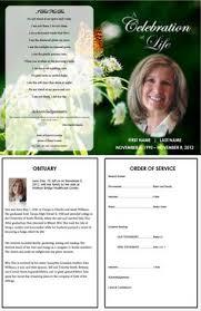 How To Write A Funeral Program Obituary - Template. Sample Obituary ...