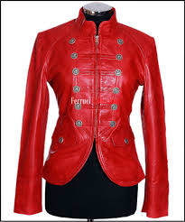 red wax women leather jacket bikers jacket s star outerwears leather jacket
