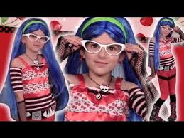how to style your ghoulia costume to look like ghoulia yelps monster high doll for