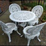 white iron outdoor furniture. Perfect Outdoor White Iron Garden Furniture For Outdoor R