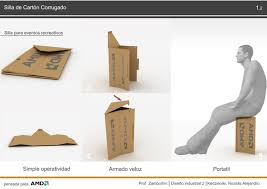 foldable cardboard furniture. Cardboard Chair With Legs For Events Foldable Furniture
