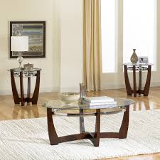 Three Piece Living Room Table Set Standard Furniture Apollo Oval Coffee Table With 2 End Tables