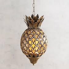 Gem Caravan Pineapple Hanging Large Lantern Pier 1