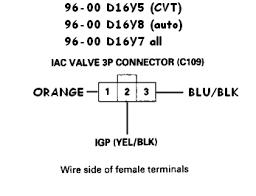 92 00 honda acura wiring sensor connector guide honda tech 96 00 civic excl gx