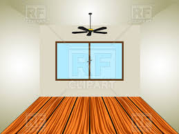 empty room clipart.  Clipart Empty Room With Window And Ceiling Fan Vector Image U2013 Artwork Of  Architecture  With Room Clipart R