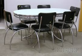 restore s chrome kitchen vintage formica and chrome kitchen table and set lot s vintage chrome