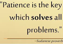 patience definition essay