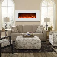 regal flame ashford 50 inch white ventless heater electric wall mounted fireplace log