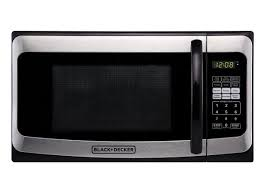 black decker em031mat microwave oven