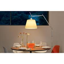 floor lamp tolomeo mega led aluminum