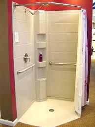s walk in shower curtain size
