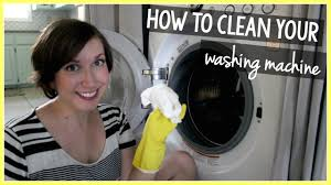 Cleaning Front Load Washing Machine How To Clean A Front Loading Washing Machine Youtube