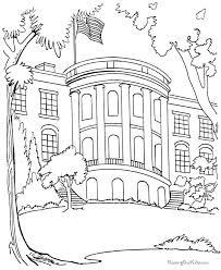 Small Picture The White House Coloring pages
