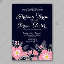 Invitation Downloads New Pink Peony Wedding Invitation Template Design Birthday Sakura