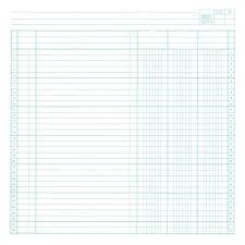 General Ledger Template Printable Printable Ledger Paper Accounting Ledger Excel Accounting Excel