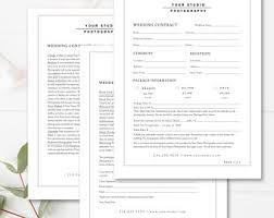 Wedding Contract | Etsy