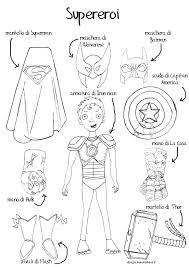 Disegno Da Colorare Bambini Gratis Eroi Supereroi Fumetti Disegni