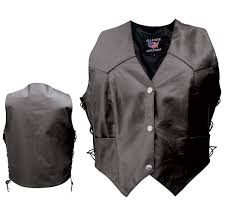 allstate leather inc women s concealed carry leather vest