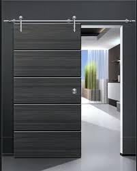 black sliding door shine black modern design wood door solid wood sliding door black sliding door