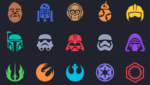 star wars template 7 star wars icons free psd vector jpg format download