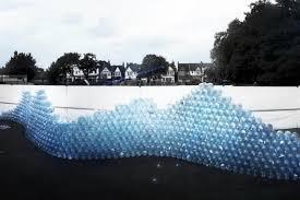 water wall art installation