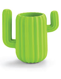 Magnetic Paperclip Holder Mustard Cactus Desktop Organiser Penpot Magnetic Paperclip Holder