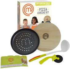Masterchef Junior Pizza Cooking Set – 5 pc Kit Includes Real Cookware for  Kids and Recipes: Amazon.de: Küche & Haushalt
