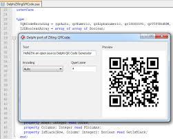 Delphizxingqrcode Source Qr Delphi Debenu Code Open Library