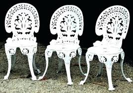 cast iron outdoor table and chairs danagilliannme