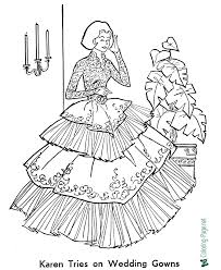Dress up game with mexican clothes. Wedding Bride Coloring Pages Printable Coloring Pages For Kids