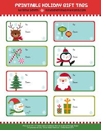 Free Printable Gift Tags [Christmas]