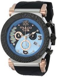 MULCO Unisex MW5-2388-026 Chronograph Analog <b>Watch</b> ...