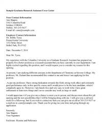 Research Cover Letter Resume Graduate Research Assistant Marketing