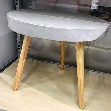cheap furniture ideas. Concrete Side Table With Wood Legs Mens Cheap Man Cave Furniture Ideas R